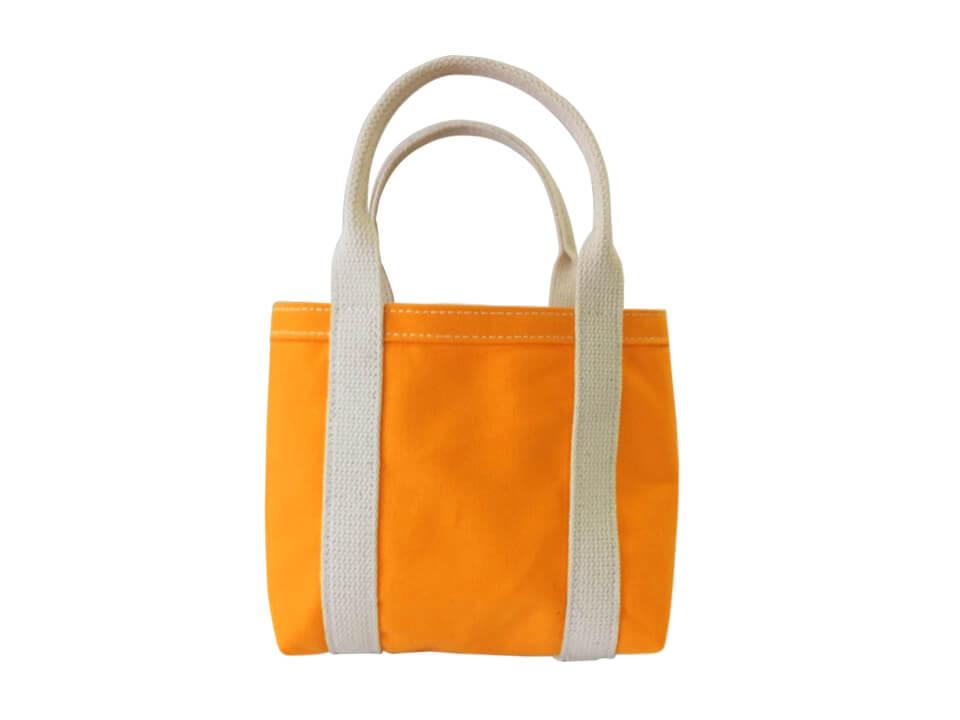 รับทำกระเป๋าผ้า สั่งทำกระเป๋าผ้า ราคาถูก สีส้ม
